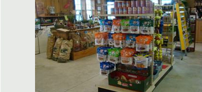 Nickel Plate Mills in Erie, PA has a large variety of holistic cat and dog food.
