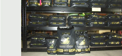 We feature healthy and nutritious holistic Fromm Gold Dog Foods.